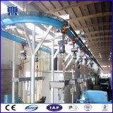 Transportador a través del tipo máquina catenaria del chorreo con granalla, tipo equipo de la percha de granallado