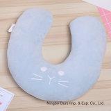 Fornecedor chinês Bonitinha Creative Cartoon Gato algodão PP U travesseiro do bocal do Office