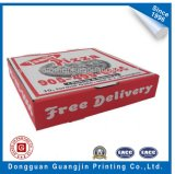 Rigid Paper Corrugated Pizza Packaging Box (GJ-PizzaBox030)