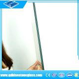 0.38mm/0.76mm 유백색 분홍색 파란 PVB 필름을%s 가진 박판으로 만들어진 유리