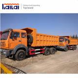Vrachtwagen van de Kipper van de Vrachtwagen van de Stortplaats van Beiben de Internationale Standaard