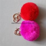 熱い販売の美しいウサギの毛皮の球