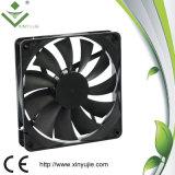 Ventilateur axial de C.C de ventilateur imperméable à l'eau de C.C 12V de ventilateur actionné par plastique 140mm 140X140X25mm