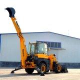 De hete Macht van de Verkoop 60kw Multifunctionele Backhoe van 7.0 Ton Lader