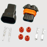 Los conectores de cable auto final de la junta de silicona