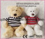 Christmas Gift를 위한 Ribbon를 가진 귀여운 Plush Teddy Bear Toy