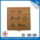 Personnalisé Papier kraft brun Pizza Boîte en carton ondulé