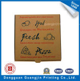 Personalizado papel Brown Kraft Corrugated Pizza Box