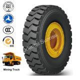 Off Road Triangle de pneu radial de pneus de camion-benne rigides