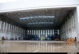 De pre-gebouwde Zink Gebogen Geprefabriceerde Hangaar van de Hangaar van de Luchthaven Dakwerk