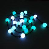 360程度魔法LEDの球50mm LEDのクリスマスの球ストリングライト