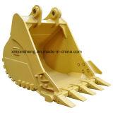 Caçamba padrão, balde pesado, balde de rocha para as peças de máquinas Empilhadeira Buldozer da escavadeira