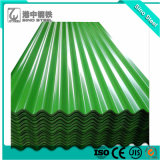 Il colore ricoperto/ha preverniciato lo strato d'acciaio ondulato galvanizzato del tetto (PPGI)