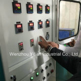 Двойной конвейер головки блока цилиндров тип низкое давление PU машины для принятия решений зерноочистки
