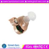Tecnologia di riduzione di disturbo dei materiali dell'ABS della protesi acustica del canale dell'orecchio interno dell'amplificazione del suono