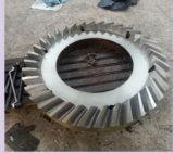 Cnc-hohe Präzisions-geschmiedeter Zahntrieb und Kegelradgetriebe