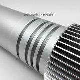 Cnc-drehenprägealuminiumersatzteile, Aufschriftbeleuchtung-Aluminiumteile, Sonnenblume-Aluminium, anodisierte Aluminiumteile, Messing/Stahl/Aluminium-Prägemetalteile