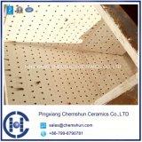 Плитка подкладки глинозема керамическая для хоппера глинозема керамического выровнянного