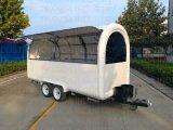 中国の新しいデザイン移動Towable軽食のファースト・フードのカート
