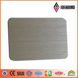 Ideabond Panel Compuesto de Aluminio (AE-32B, el oro cepillo)