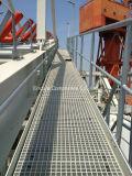 FRP/GRP geformte Vergitterung/Figerglass Vergitterung/Plastikvergitterung/Projekte/Abwasser/Korrosionsbeständigkeit