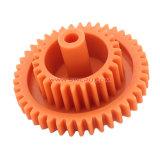 おもちゃのためのカスタマイズされた小さい白UHMWのPEプラスチックギヤ車輪