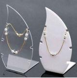 Fenêtre Affichage acrylique dépoli de gros de bijoux BIJOUX Necklace Collection