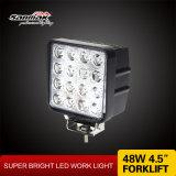 4.5 '' lámpara de trabajo cuadrada de 48W IP68 LED para el coche