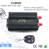 Dispositivo de localização do veículo por GPS Tk 103 GSM GPS Tracker com Sensor de choque & Motor Desligado