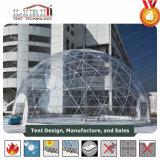 屋外の結婚披露宴の展覧会およびイベントに使用する半分の球形のテント
