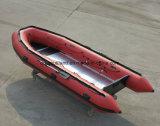Aqualand 16,5 pies de goma inflable de 5m Hypalon Fishingrubber de PVC en barco a motor (NCA500).