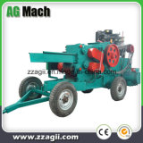 Máquina lascando-se de madeira do cilindro amplamente utilizado do motor Diesel da maquinaria da floresta