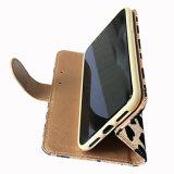 Glitter Loving-Heart móvil teléfono monedero de cuero de PU caso iPhone x