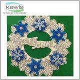 Multicolor бумажный шелк цветет венок рождества гирлянды