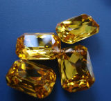Crystal octogonal de piedra de lujo Accesorios prendas de vestir (Dz 3008)