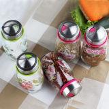Комплект опарника перца опарника белого перца опарника перца соли опарника Kitchenware стеклянный