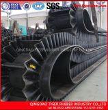China proveedor la pared lateral de tacos de corrugado Transportador de cinta de goma