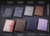 Refillable кожаный тетрадь тетради кожи тетради персонализированная крышкой кожаный
