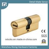 60mm de latón de alta calidad de cilindro de bloqueo de cerraduras de puertas Rxc02