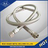 Aço inoxidável trançado mangueiras metálicas flexíveis