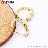 Oro-Plated Charming Crystal Bowknot Hoop Earring di Newest Products 14k di modo per le Donne 90166