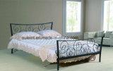 꽃 금속 2인용 침대 (OL17152)