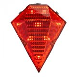 2 de láser rojo impermeable 8 Super brillante luces traseras LED
