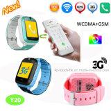 Venta caliente 3G WCDMA GPS Reloj inteligente con la cámara (Y20)