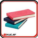 색깔 가장자리 (KCz-00082)를 가진 PU 일기 노트북