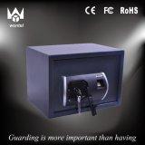 Casella di deposito sicuro a prova di fuoco con l'apertura biometrica di codice o dell'impronta digitale
