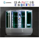 Glass Customized Steam Shower Raum mit Bathtub (SR608) schieben