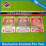 Rectangle traditionnel médaille avec conception Vintage