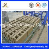 Konkreter Ziegelstein-Block des hydraulischen Kleber-Qt12-15, der die Formung der Maschine bildet