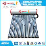 2016 aço inoxidável aquecedor solar de água (tubo de vácuo)